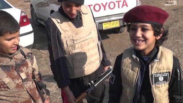 Boy in Mosul