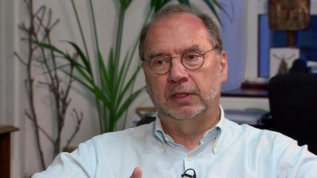 Professor Peter Piot, Director of the London School of Hygiene and Tropical Medicine.