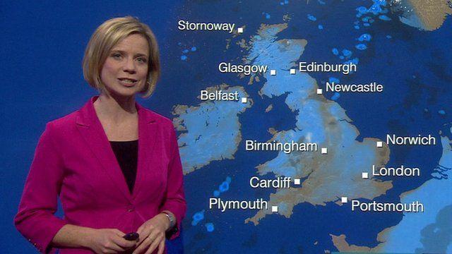 Sunday UK weather forecast   BBC News