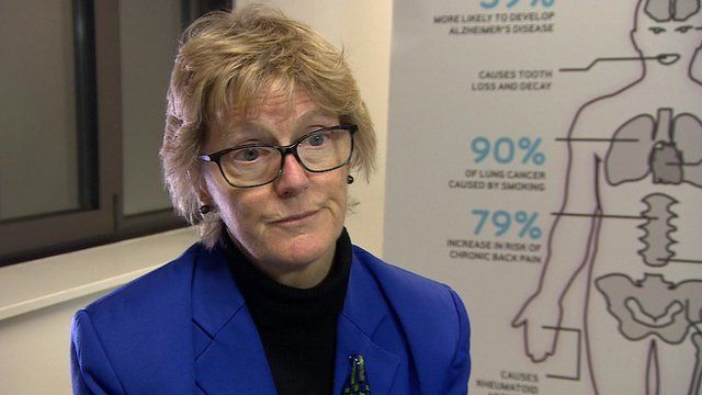 Dame Sally Davies: Smoking 'rots you from the inside'