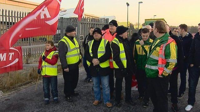 City Link workers