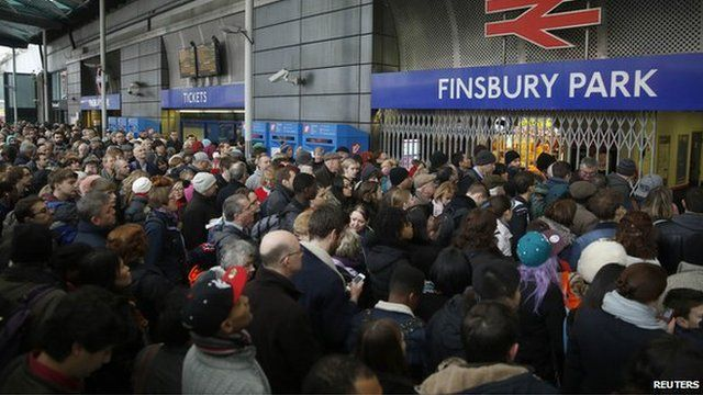 Finsbury Park station was temporarily closed on Saturday following police advice