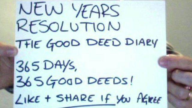 Good deed diary by Luke Cameron