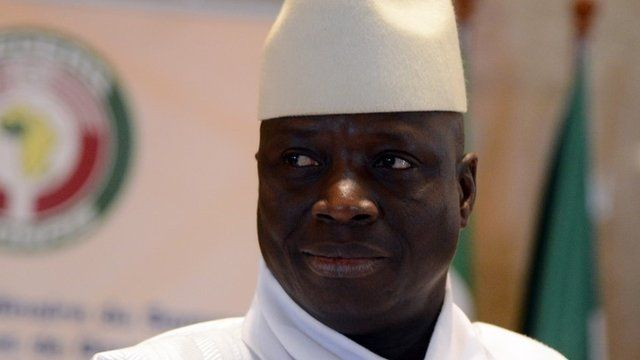 Yahya Jammeh in March 2014