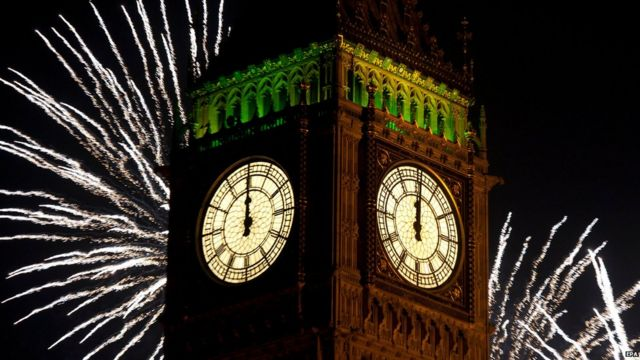 New year celebrations: Revellers gather in London and across UK