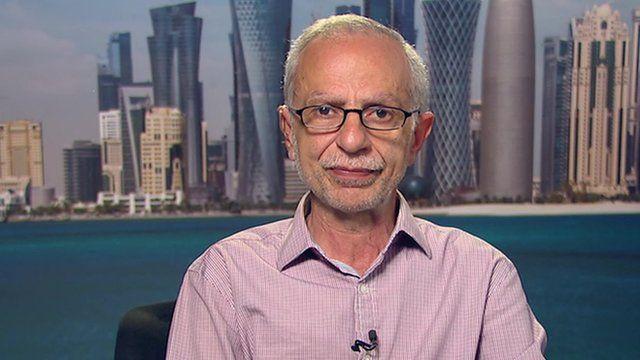 Director of News at al-Jazeera English, Salah Negm