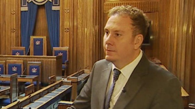 Swansea council leader Rob Stewart