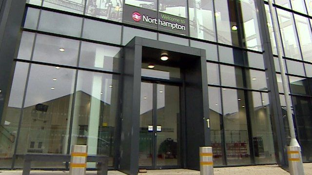 Northampton's new train station