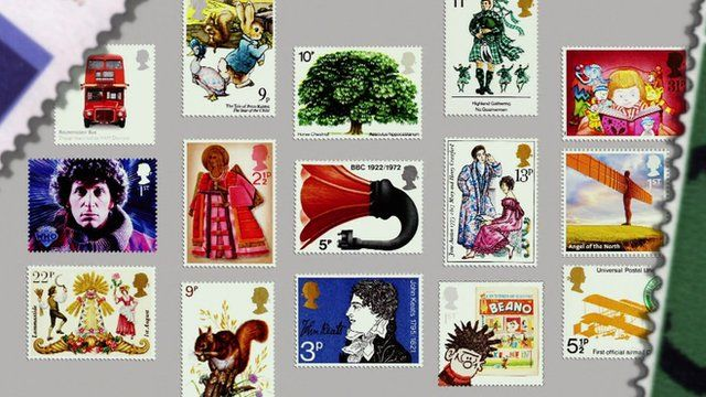 A selection of Royal Mail's special stamps
