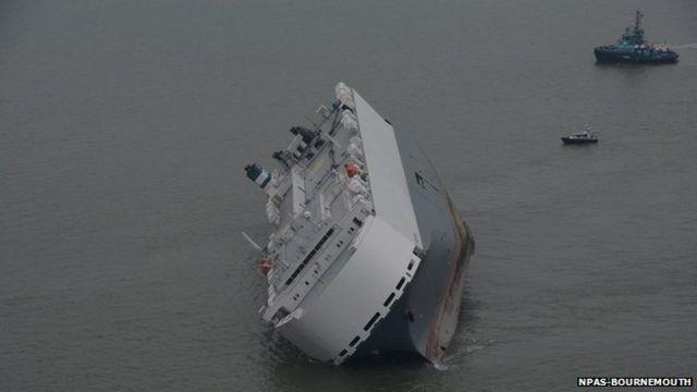 Operation to free Hoegh Osaka cargo ship under way