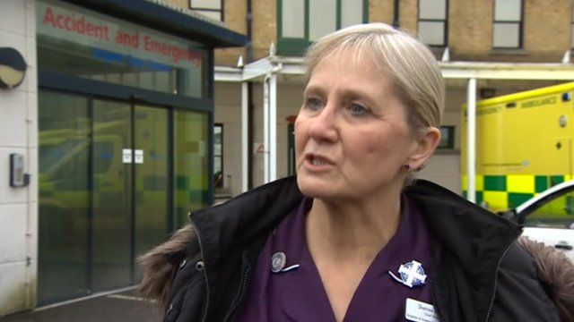 Sheree Fagge, Chief Nurse at Brighton and Sussex University Hospital Trust