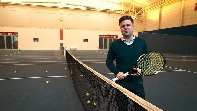 The BBC's Dave Lee looks at technology in tennis