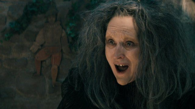 Meryl Streep in 'Into the Woods'