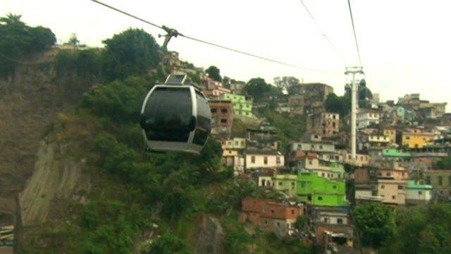 Rio cable car
