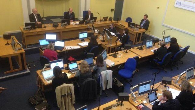 Historical Institutional Abuse Inquiry sitting