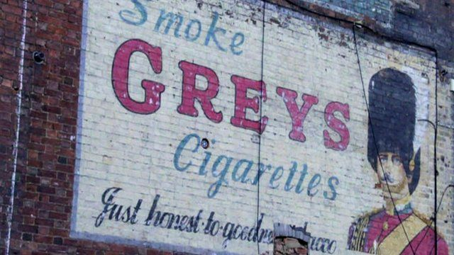 'Ghost sign'