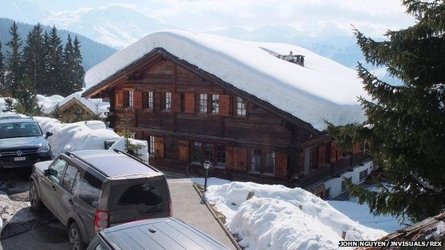The Helora chalet in Verbier, Switzerland bought by Prince Andrew and his ex-wife Sarah Ferguson