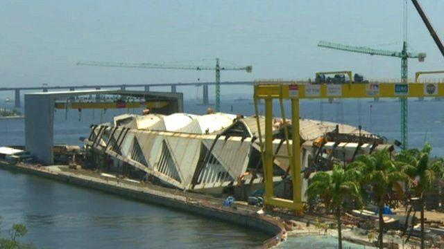 Rio harbour construction project