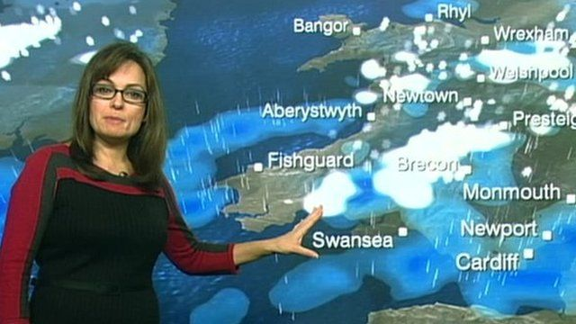 Weather forecast for Wales