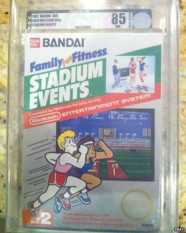 eBay auction for rare video game nears $100,000