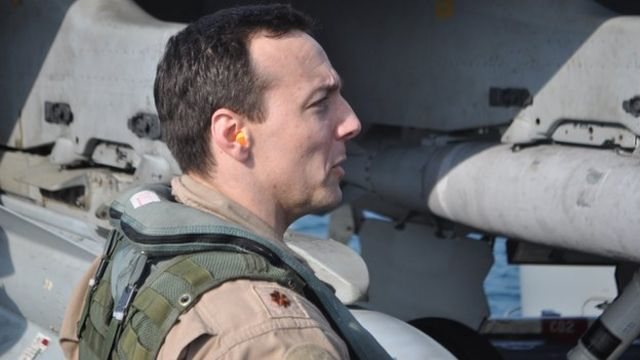 On board with the US air crews fighting Islamic State