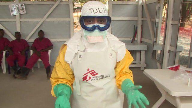 Tulip Mazumdar in PPE