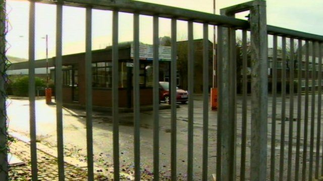 Gates of property bought by Welsh government