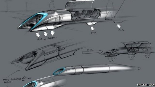 Hyperloop to be built in Central California next year