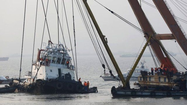 Chinese tugboat