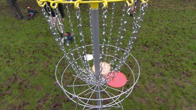 Disc Golf apparatus