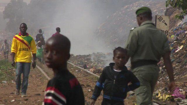 Residents in Guinea