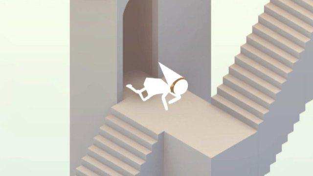 Monument Valley computer game screen grab