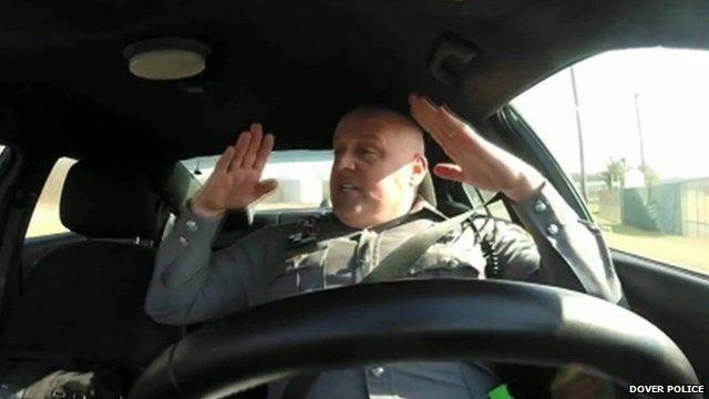 Dover Police officer