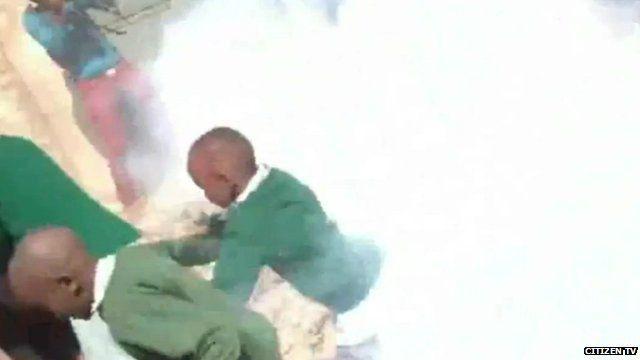 Kenyan children teargassed by police in playground dispute
