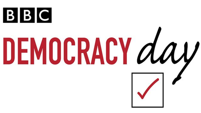 Democracy day logo