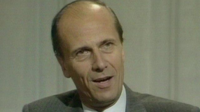 Archive image of Norman Tebbit