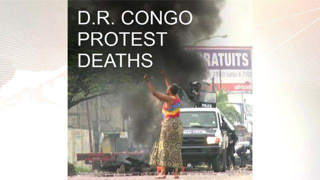 D.R. Congo protests