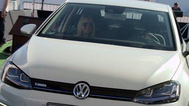 VW e-Golf car