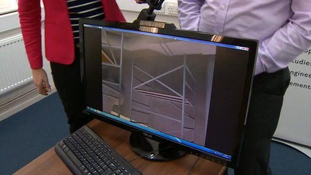 3D images show where dangerous radiation is