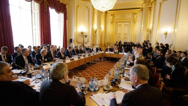 British Foreign Secretary Philip Hammond hosts the Small Group of the Global Coalition to Counter IS