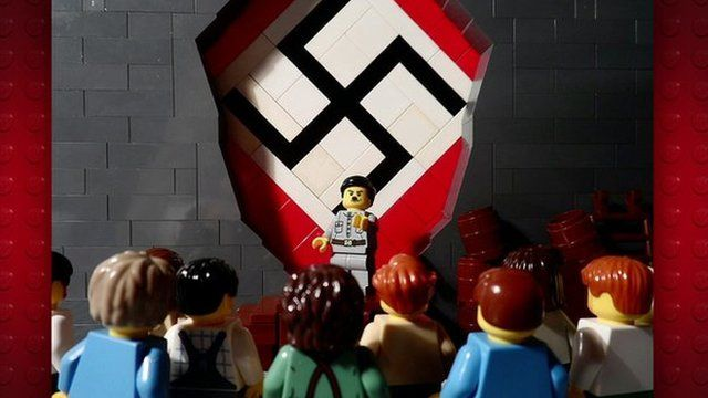 Lego picture of Hitler