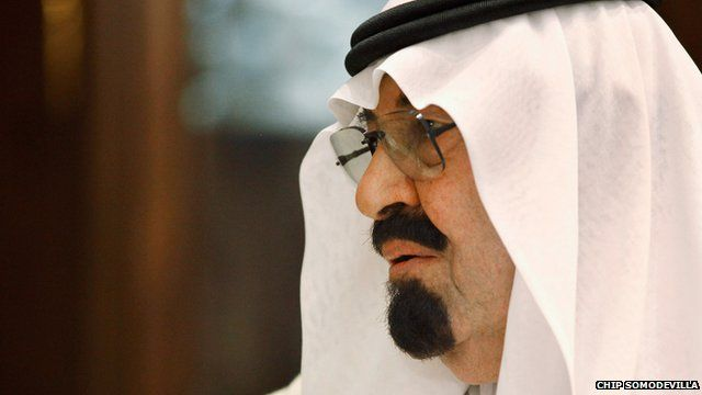 Saudi King Abdullah who has died in his 90s