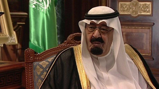 King Abdullah bin Abdulaziz in 2007