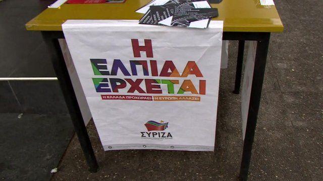 Syriza poster