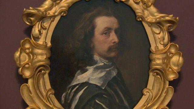 The last self-portrait of Sir Anthony Van Dyck