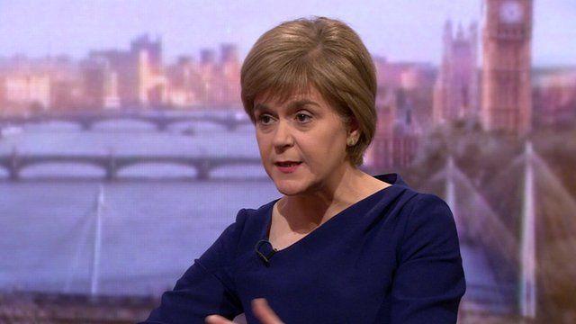 Nicola Sturgeon, Scotland's First Minister