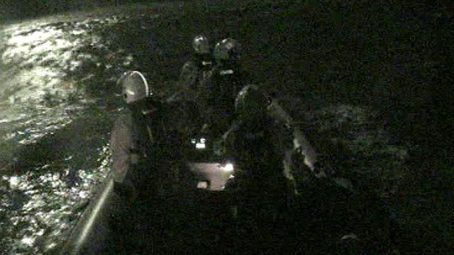 Blackpool RNLI volunteers continued searching until about 03:30 GMT