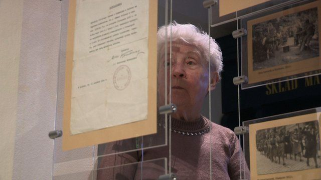 Janina Paszek lived in Oswiecim during the Holocaust
