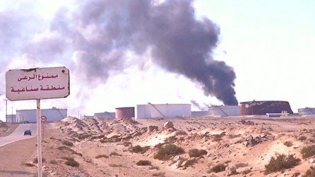 Libya oil fields