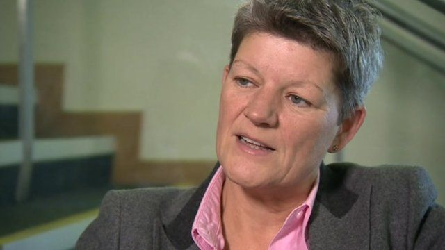 Tracy Myhill, interim chief executive at the Welsh Ambulance Service